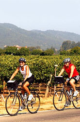 Wine Country biking photo